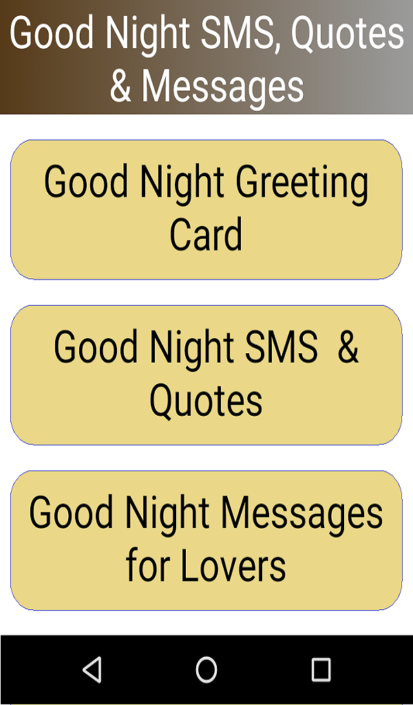 Amazoncom Good Night Images Sms Quotes Appstore For Android