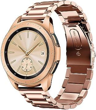 Sundaree Compatible con Correa Galaxy Watch 42MM,20MM Metal Acero ...