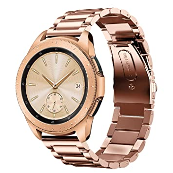 Sundaree Compatible con Correa Galaxy Watch 42MM,20MM Metal Acero ...