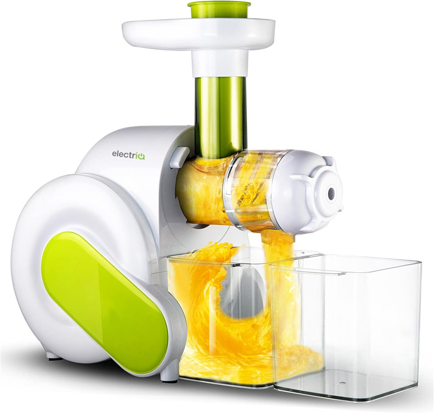 electriQ HSL600 Juicer Whole Fruit, Vegetable Extractor with Quiet Motor
