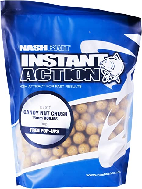 Nash Bait Instant Action Pineapple Crush 15mm Pop-Up Carp Fishing