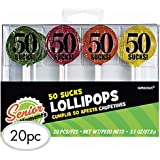 Lollipops 50 Sucks, 20ct
