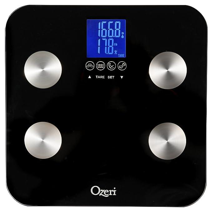 150 opinioni per Ozeri Touch- Bilancia Digitale da Bagno (portata 200kg / 440 lbs))- Misura Peso,
