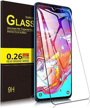 Yocktec Cristal Templado para Samsung Galaxy A70 2019, Protector ...