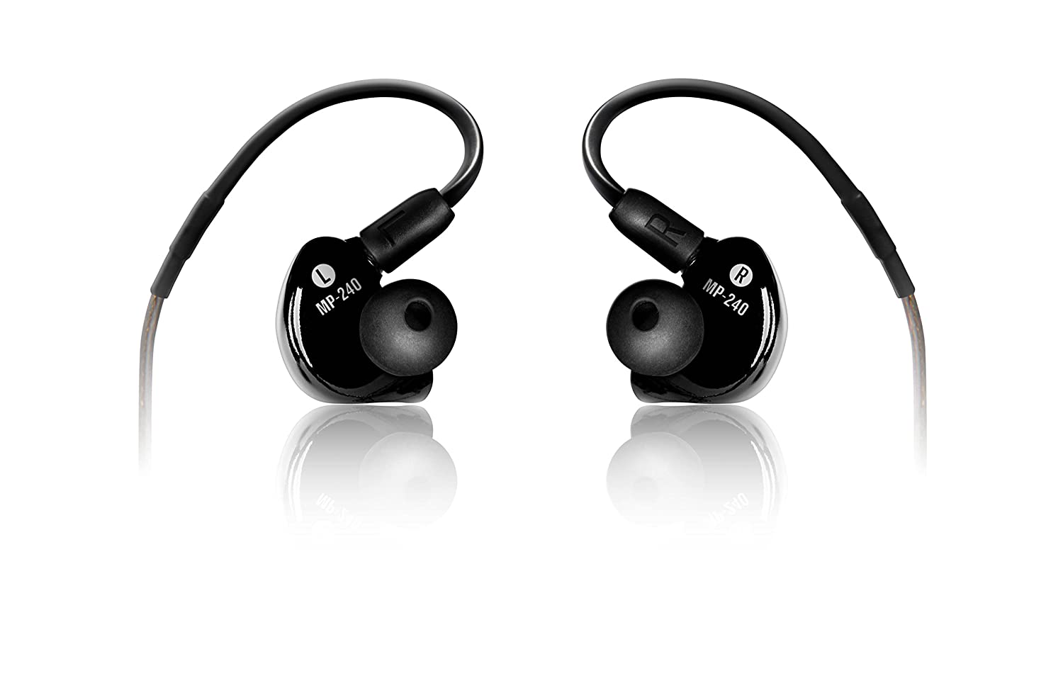 Mackie in-Ear Headphones and Monitors, Dual Hybrid Driver (MP-240) Loud Technologies Inc.