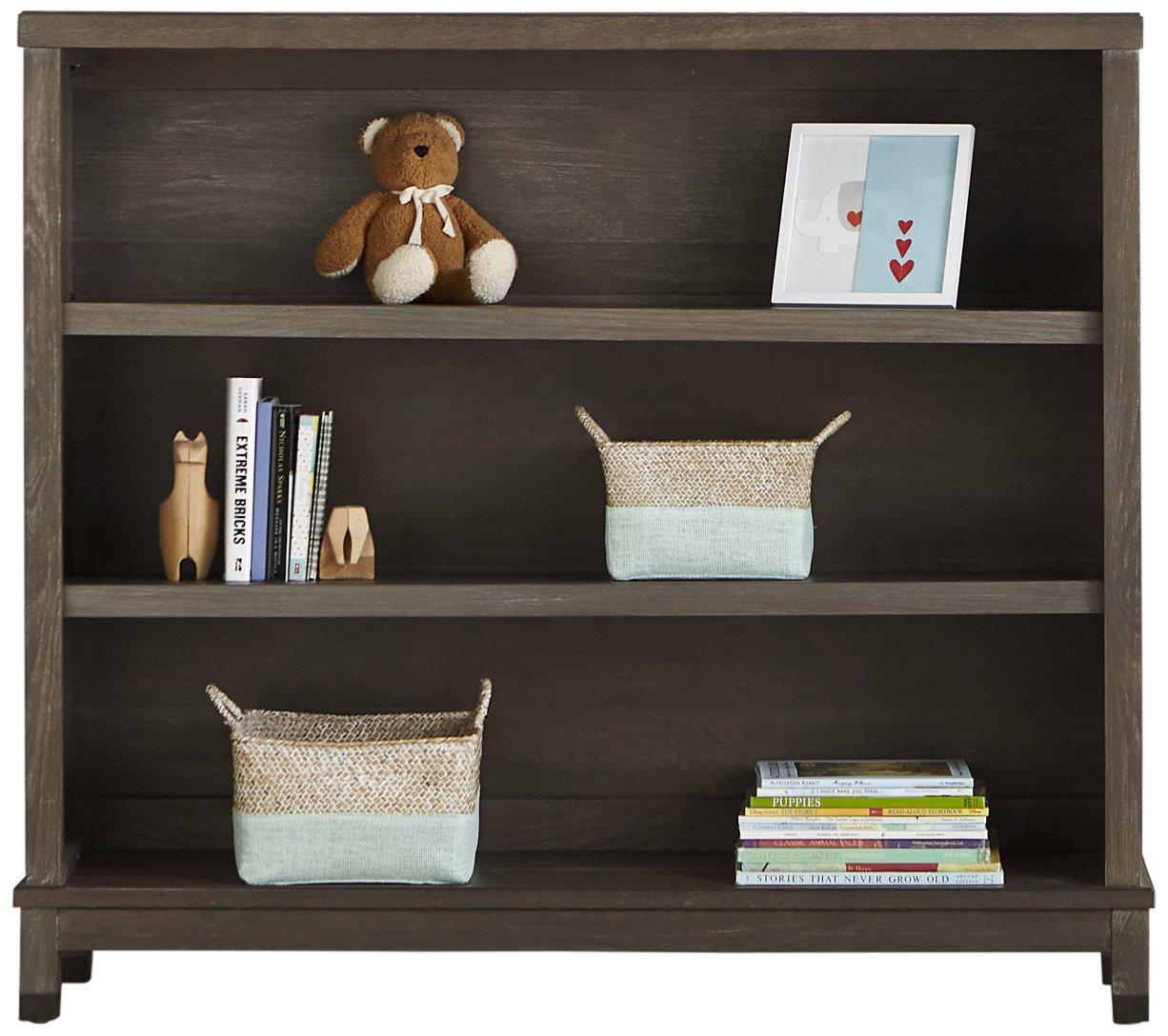 Washed Grey Dwellstudio Beckett Convertible Hutch Bookcase
