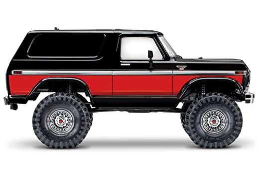 Amazon Com Traxxas Trx  Ford Bronco   Trail And Scale Crawler Red Toys Games
