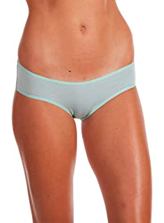 9106cbfd1748 Woolly Clothing Women's Merino Wool Hipster Brief - Ultralight - Wicking  Breathable Anti-Odor