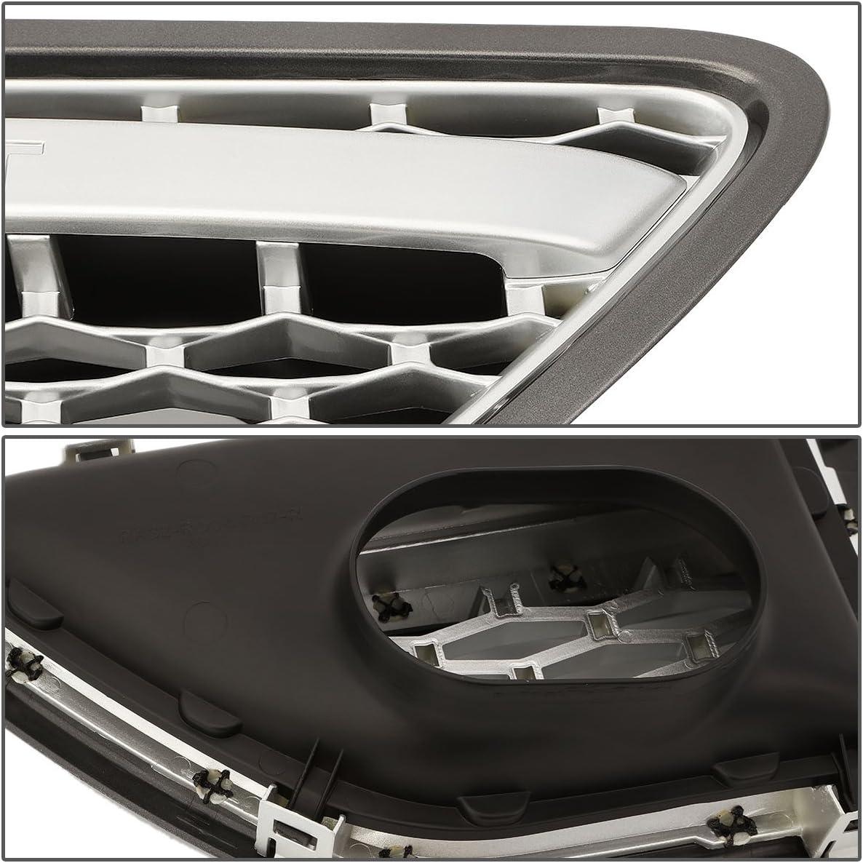 DNA Motoring GRF-096-CH-BK Side Fender Mesh Grille