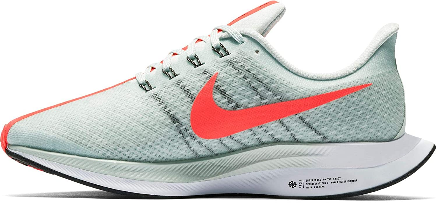 Nike Zoom Pegasus 35 Turbo, Zapatillas de Running para Hombre, (Barely Grey/Hot Punch/Black/White 060), 40.5 EU: Amazon.es: Zapatos y complementos
