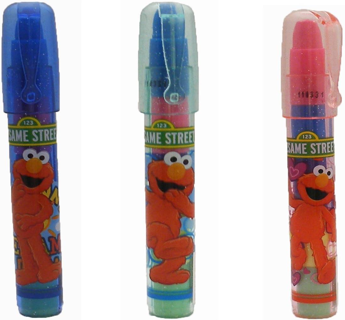Elmo Erasers 3 Ct