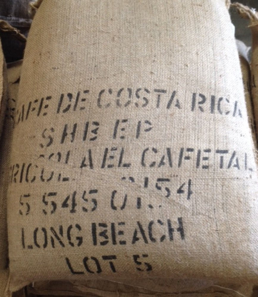 20LBS Costa Rica Tarrazu Unroasted Green Coffee Beans by Bodhi Leaf Trading Company