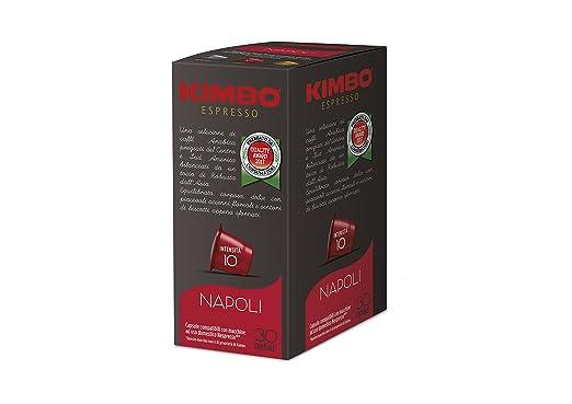 KIMBO napoli - Intensidad 10-240 Cápsulas compatibles con ...