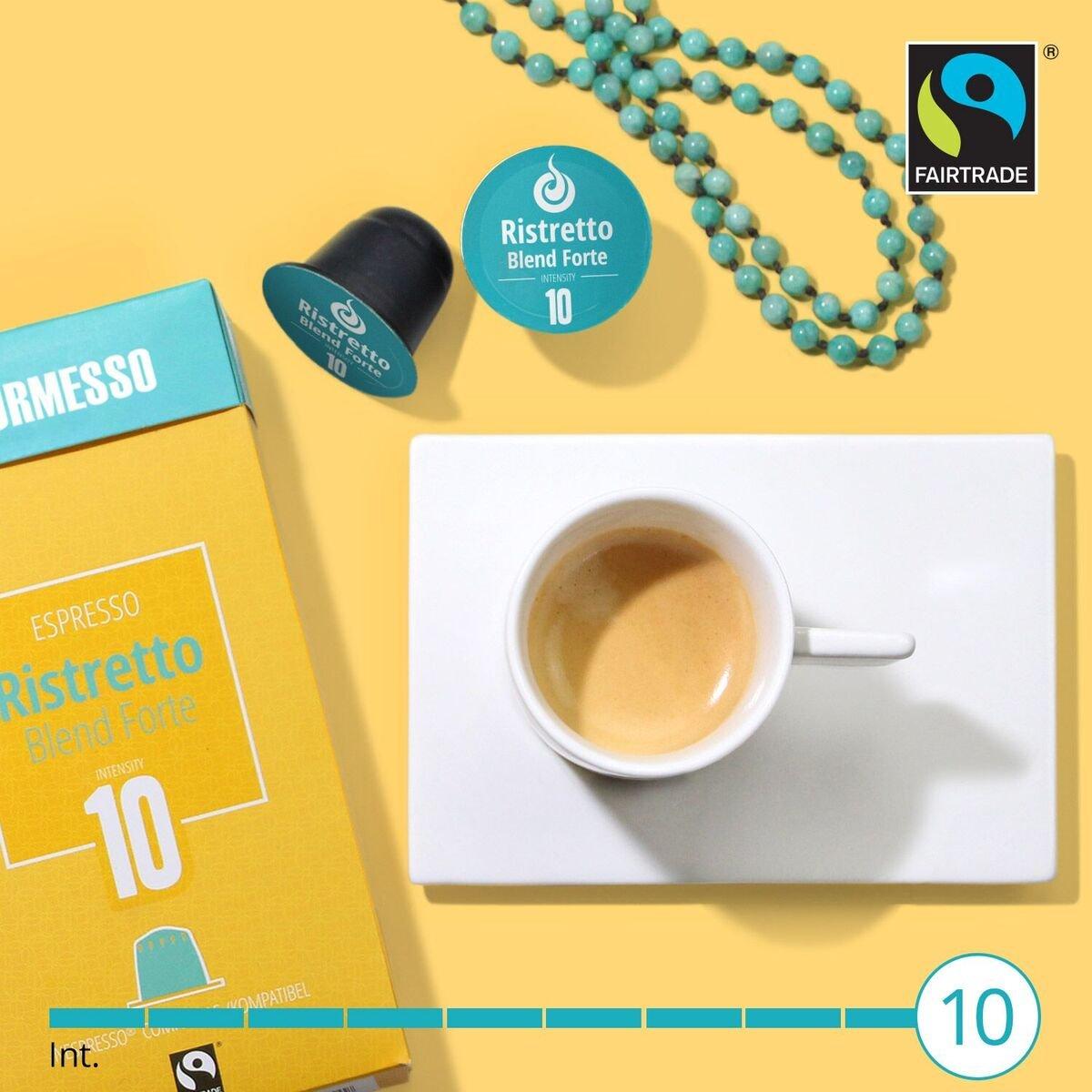 Gourmesso Ristretto Blend Forte (10 Capsulas): Amazon.es: Alimentación y bebidas