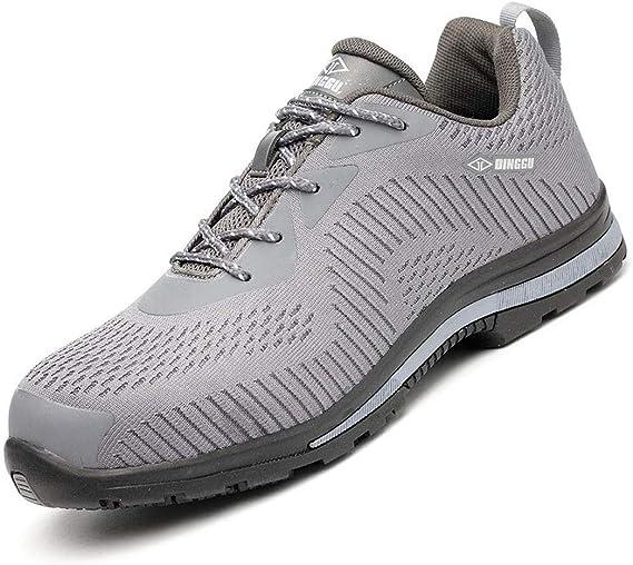 El verano Zapatillas de Seguridad para Hombre Mujer Zapatos ...