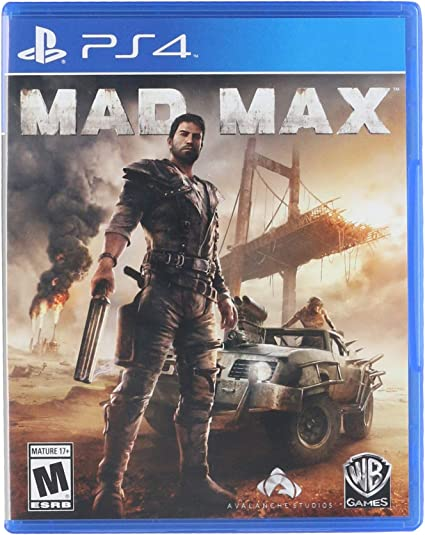 Amazon Com Mad Max Playstation 4 Whv Games Video Games