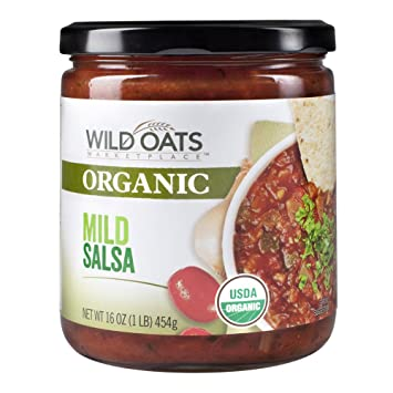 Wild Oats Marketplace Organic Mild Salsa, 16 Oz (Pack of 2)