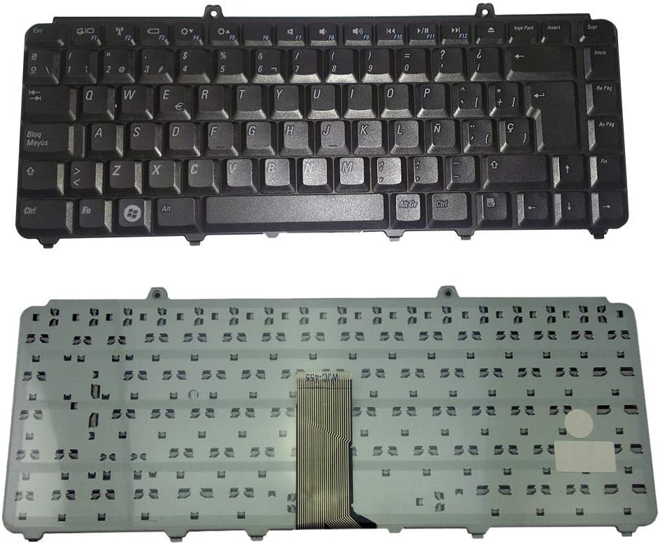 Replacement Keyboard for Dell Inspiron 1545 1540 1546 1400 1540 XPS M1530 Series Black Keyboard Spanish Teclado en Español 1545