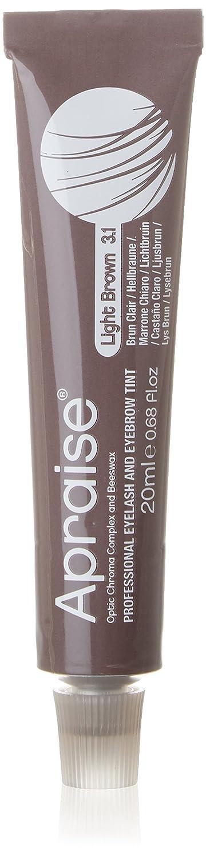 Apraise Eyelash and Eyebrow Tint Light Brown, Number 3.1 555552