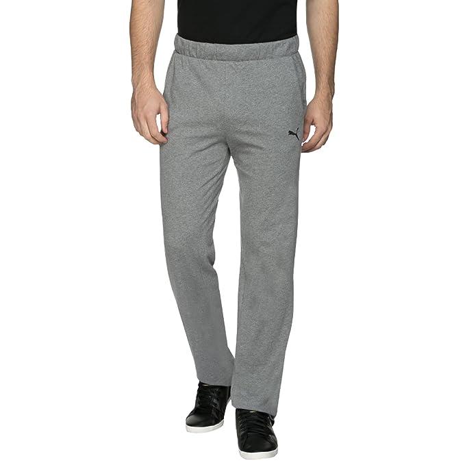 0b1ad34baf7c Puma Men s Cotton Active Base Layer Trousers  (4056207117177 59128203-530 X-Large Light Grey)