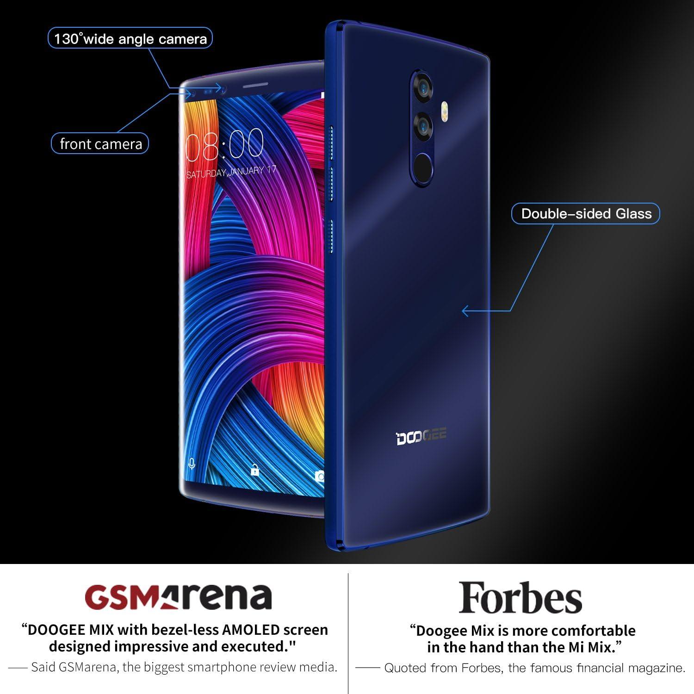 Moviles Libres Baratos, DOOGEE MIX 2 Smartphone Libre, 4G Android ...