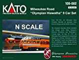 Kato USA Model Train Products N Milwaukee Road
