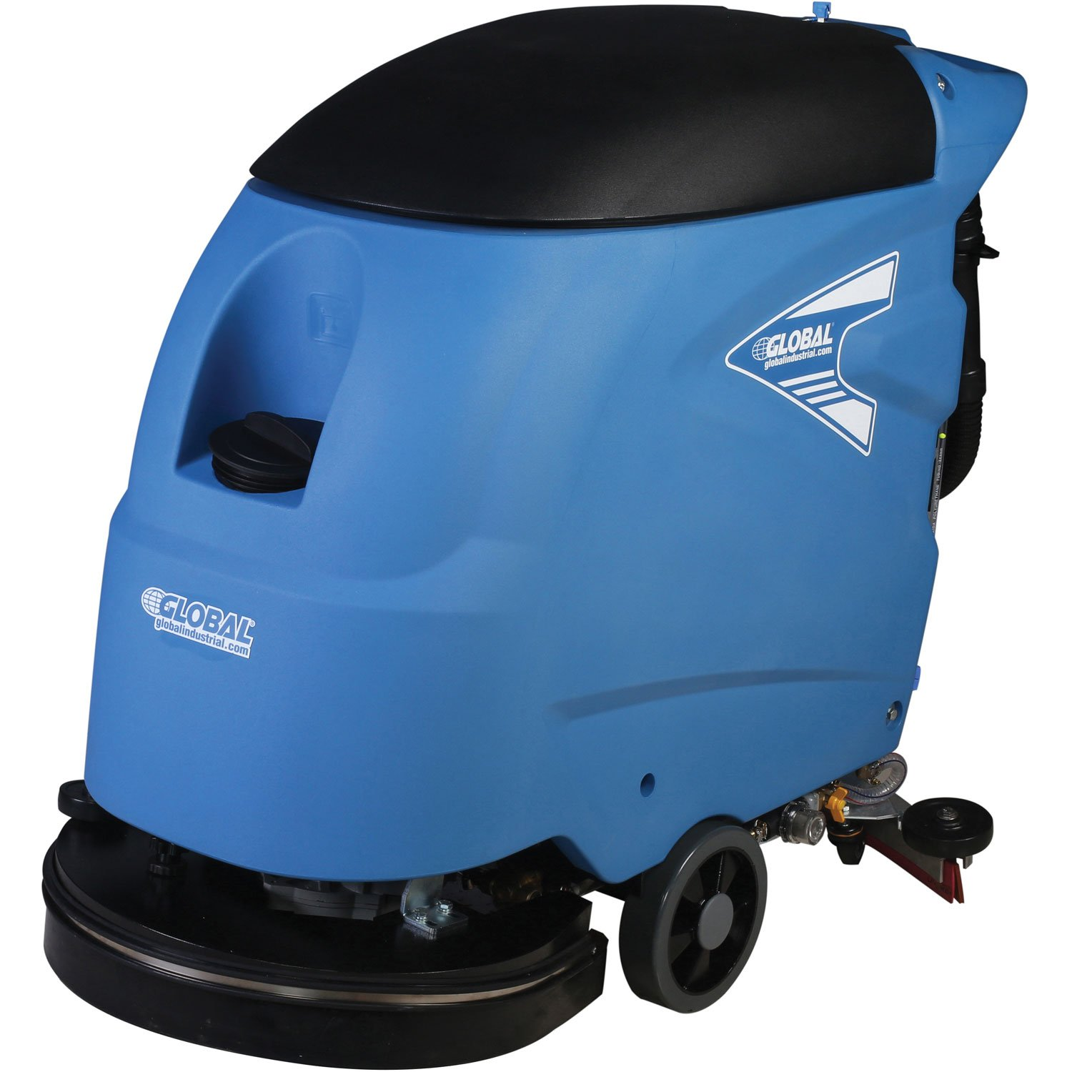 20' Electric Auto Floor Scrubber, Corded Global Industrial T45/50E