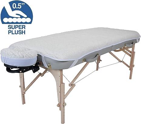 Housse Polaire pour T/êti/ère de Table de Massage