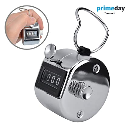 amazon com ktrio tally counter 4 digit number counter clicker hand