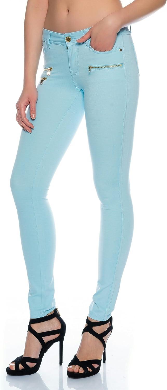 Cómodo Mujer Moderna Jeggings Leggings cadera Pantalón Stretch Slimfit