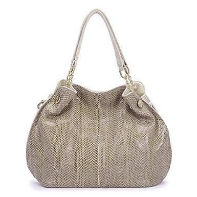Frauen Handtasche Schultertasche Große Kapazität Damen Retro Einkaufstasche Diagonal Einfach Der Trend Stilvoll,Blue-OneSize ADEFG