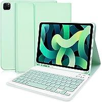 Funda con Teclado para iPad Air 4 (2020, 10,9) - Funda Inteligente Delgada con Teclado Bluetooth Desmontable para iPad…