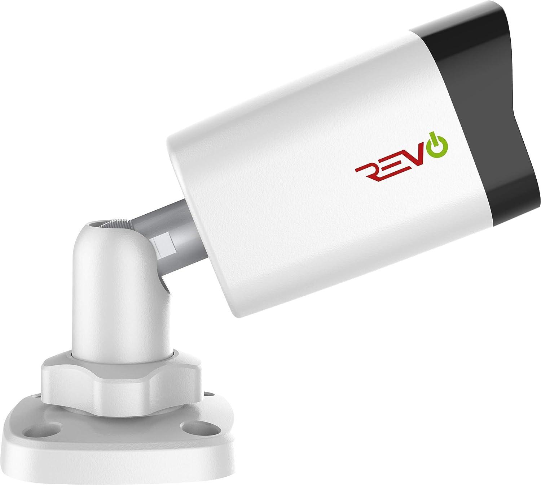 Revo America Ultra HD 4 Ch. 1TB HDD IP NVR Video Surveillance System, 4 x 4MP IP IR Bullet Security Cameras – Remote Access via Smart Phone, Tablet, PC MAC
