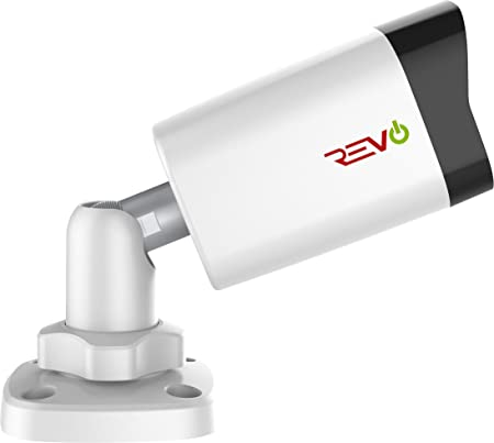 Revo America Ultra HD 4MP IP Bullet Camera Indoor Outdoor – 100 Night Vision, IP66 Weatherproof, 3DNR, Smart IR, ONVIF Compliant