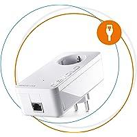 Devolo Magic 2 LAN: Leistungsfähiger Powerline-Erweiterungs Adapter mit 2400 Mbit/s für Heimnetzwerk, 1 Gigabit LAN-Anschluss, magisches Internet aus der Steckdose