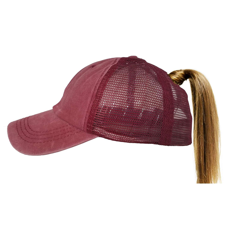 251009fecac Details about Eohak Ponytail Baseball Hat Vintage