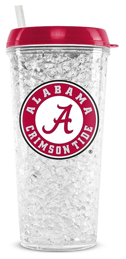 Amazon.com: NCAA Universidad de Alabama Congelador, Vaso de ...