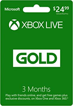 3 Month Microsoft Xbox Live Gold Membership