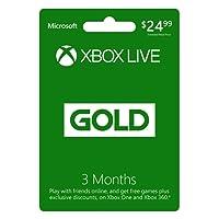 3 Month Xbox Live Gold Membership - [Digital Code]