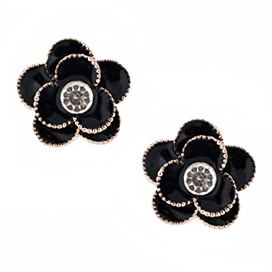 d2c24fc5f8766 Buy Shreya Collection Trendy Floral Style Black Colour Rhinestones ...