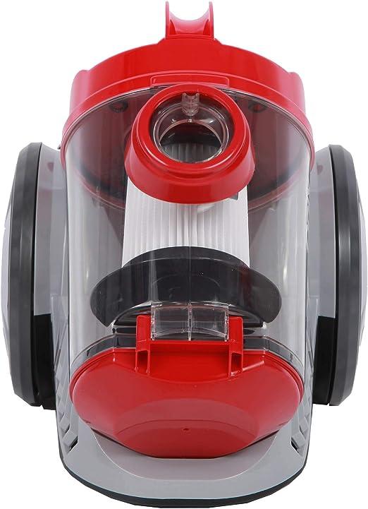 900W Aspirapolvere Zyklon, produce > 19kPa di potenza di aspirazione, 2,5 litri, filtro Hepa, senza sacco (Argento)