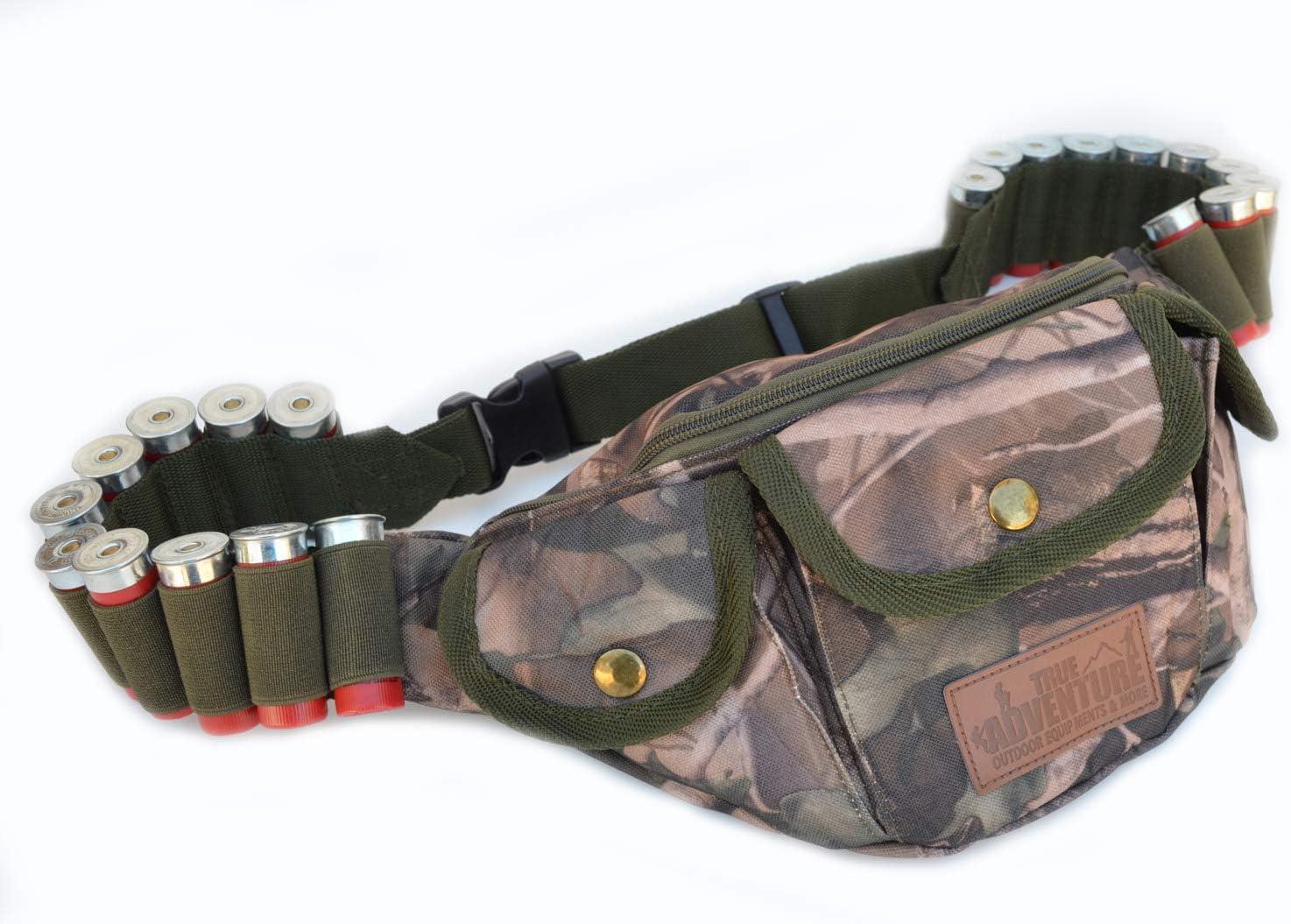 Acid Tactical Hunting Shotgun Shell Carrier Gun Waist Belt Bag Real Camouflage Real Woods CAMO 71hn554hq2BL