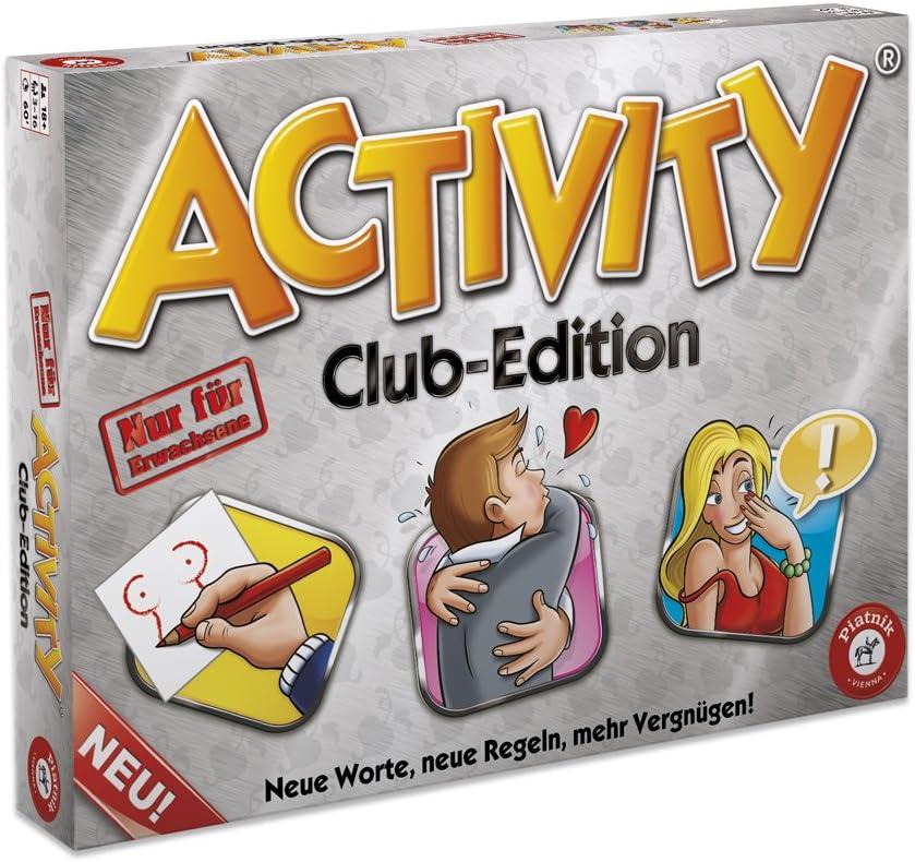 Piatnik Deutschland 6038 - Activity Club Edition ab 18 Jahren: Amazon.de: Spielzeug - Sex Party