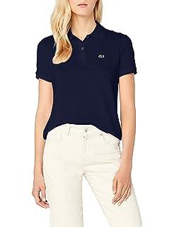 Lacoste Damen Poloshirt  Amazon.de  Bekleidung 21b6a9d72f