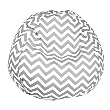 Majestic Home Goods Classic Bean Bag Chair   Chevron Giant Classic Bean  Bags For Small Adults