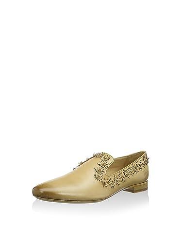 MELVIN /& HAMILTON Damen Slipper Schuhe Mokassins echt Leder Halb Loafer bequem