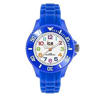 nouvelle arrivée remise pour vente mode de luxe Ice-Watch - Ice Mini Blue - Montre Bleue pour Garçon avec Bracelet en  Silicone - 000745 (Extra Small)