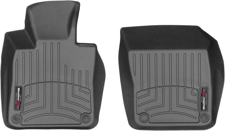 WeatherTech Custom Fit FloorLiner 4415071-1st Row Black