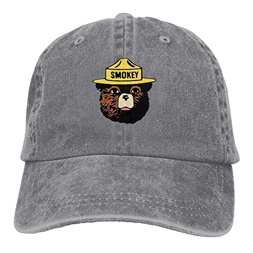 XianNonG Smokey The Bear Keep It Green Men s Black Adjustable Vintage  Washed Denim Baseball Cap Dad Hat Trucker Cap at Amazon Men s Clothing  store  ffb17dcf38f