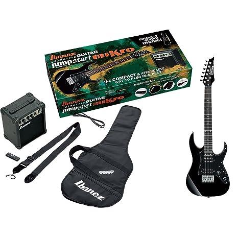 Ibanez IJM21RU-BKN - Kit de iniciación compuesto de guitarra eléctrica, amplificador (10